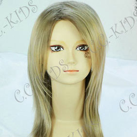 Blonde  Final Fantasy Versus XIII Stella Nox Fleuret Nylon Cosplay Wig