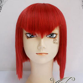 Red Black Butler Madam Red Angelina Mid-Long Nylon Straight Cosplay Wig