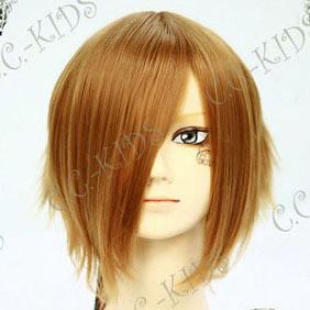 Brown K-ON! Tainaka Ritsu ver.2 Short Nylon Cosplay Wig