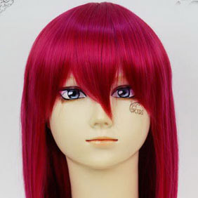 Red Toradora! Kushieda Minori Mid-Long Nylon Straight Cosplay Wig