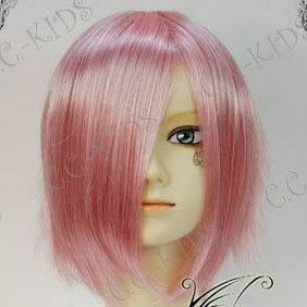 Pink  Macross Frontier Shery Short Nylon Cosplay Wig