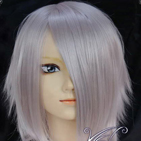 White  Pandora Hearts Break Short Nylon Cosplay Wig
