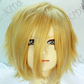 Blonde Pandora Hearts Oz Vessalius /Jack Vessalius Short Nylon Cosplay Wig