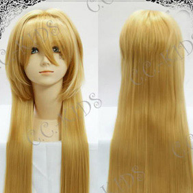 Blonde Pandora Hearts Echo Long Nylon Straight Cosplay Wig