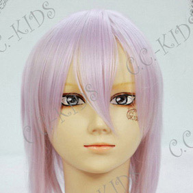 Purple  Pandora Hearts  Echo Short Nylon Cosplay Wig