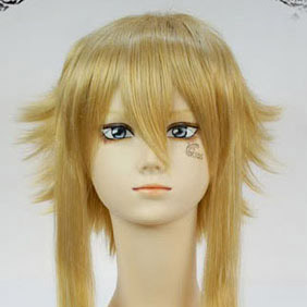 Blonde  SOUL EATER  Medusa Long Nylon Cosplay Wig