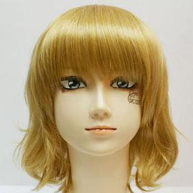 Blonde  TALES OF THE ABYSS  Natalia Luzu Kimlasca-Lanvaldear Short Nylon Cosplay Wig