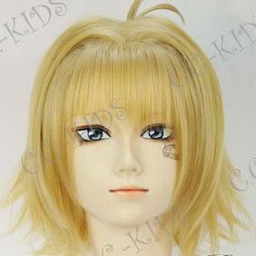 Blonde Tsubasa-RESERVoir CHRoNiCLE-  Sakura Short Nylon Cosplay Wig