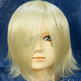 Blonde Tsubasa-RESERVoir CHRoNiCLE-  Fai Short Nylon Cosplay Wig