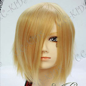 Blonde Vampire Knight  Ichijou Takuma  Short Nylon Cosplay Wig