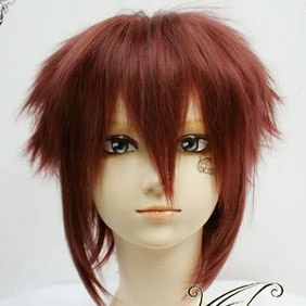 Brown  Vampire Knight Shiki Senri  Short Nylon Cosplay Wig