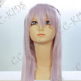 Purple  Vampire Knight  Maria Kurenai  Long Nylon Straight Cosplay Wig