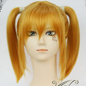 Blonde Vampire Knight  Tooya Mari  Short Nylon Cosplay Wig in braids