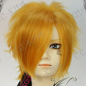 Blonde Vampire Knight  Kain Akatsuki  Short Nylon Cosplay Wig