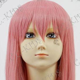 Pink NabariNoOu  Kiyomizu Raikou  Mid-Long Nylon Cosplay Wig