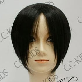 Black NabariNoOu  yoite  Short Nylon Cosplay Wig