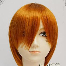 Orange  Short Nylon Cosplay Wig