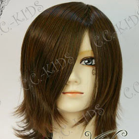 Brown Short Nylon Cosplay Wig