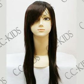 Black Long Nylon Cosplay Wig