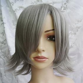 Silver  SOUL EATER Frankenstein  Short Nylon Cosplay Wig