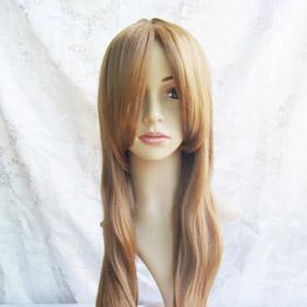 Brown Rozen Maiden Rozen Maiden Suiseiseki Long Nylon Curly  Cosplay Wig