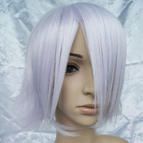 White  Pandora Hearts  Xerxes Break Short Nylon Cosplay Wig