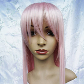 Pink Betrayal Knows My Name  Murasame Toko Long Nylon Straight Cosplay Wig