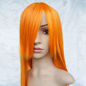 Orange  BLEACH  Bleach  Inoue Orihime Long Nylon Straight Cosplay Wig