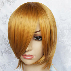Blonde Short Nylon Cosplay Wig