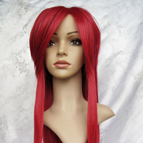 Wine Red Black Butler Kuroshitsuji Gureru Sutcliffe Long Nylon Straight Cosplay Wig