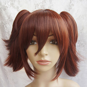 Brown Black Butler Kuroshitsuji  Maylene Meirin Long Nylon Cosplay Wig