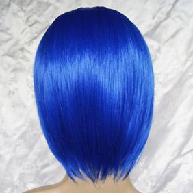 Blue VOCALOID2 KAITO/Eloquent Fist Ikkitousen Ryomou Shime Short Nylon Cosplay Wig