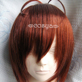Brown  CLANNAD  Furukawa Nagisa  Short Nylon Cosplay Wig