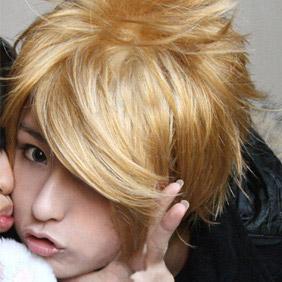 Blonde NANA  Terashima Nobuo  Short Nylon Cosplay Wig