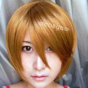 Blonde VOCALOID Golden Short Nylon Cosplay Wig