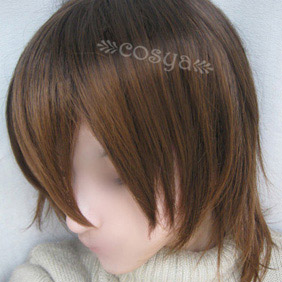 Brown  Vampire Knight WIG0035  Short Nylon Cosplay Wig