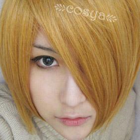 Golden Kinironokoruda WIG0044 Short Nylon Cosplay Wig