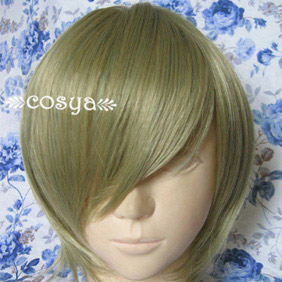 Yellow Harukanaru Toki no Naka de WIG0048 Short Nylon Cosplay Wig