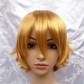 Blonde Axis Powers Hetalia  Britain Short  Nylon Cosplay Wig
