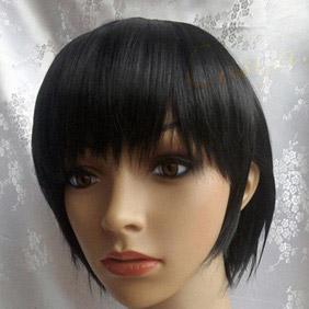 Black Axis Powers Hetalia  Japan Short  Nylon Cosplay Wig