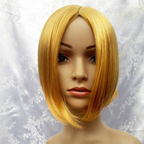Blonde Axis Powers Hetalia  Poland Short  Nylon Cosplay Wig
