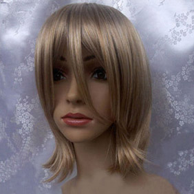 Golden Short Nylon Cosplay Wig