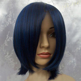 Blue  Kuroshitsuji  Black Butler  Ciel Phantomhive  Short Nylon Cosplay Wig