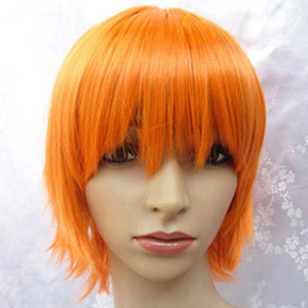 Orange  Kuroshitsuji  Black Butler Dorothel Kainz Short Nylon Cosplay Wig