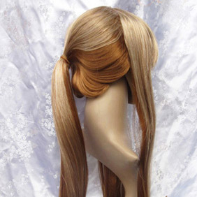 Light Brown  Pandora Hearts  Sharon Rainsworth Long Straight Nylon Cosplay Wig