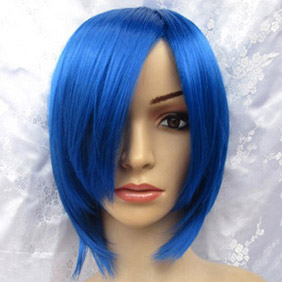 Blue VOCALOID2 KAITO Short Nylon Cosplay Wig