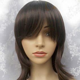Brown Long Nylon Cosplay Wig