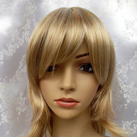 Blonde Long Nylon Cosplay Wig