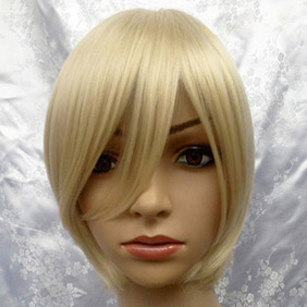 Light Brown Harukanaru Toki no Naka de Nagi Short Nylon Cosplay Wig
