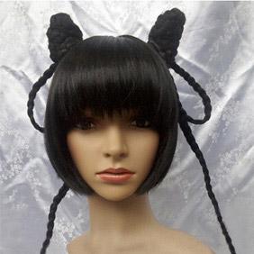 Black Black Butler Kuroshitsuji  Ranmao Nylon Cosplay Wig